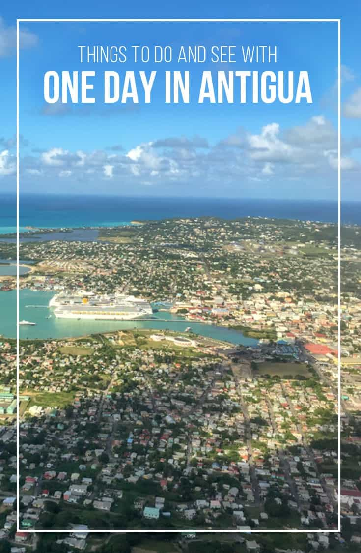 In this post we look at things to do with one day in Antigua. | Angtigua Barbuda | One Day Itinerary | Excursions | Attractions| Cruise Excursions |