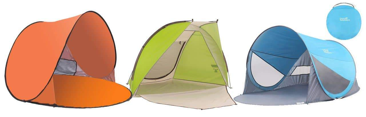 Beach Tent Travel Friendly Sun Shades