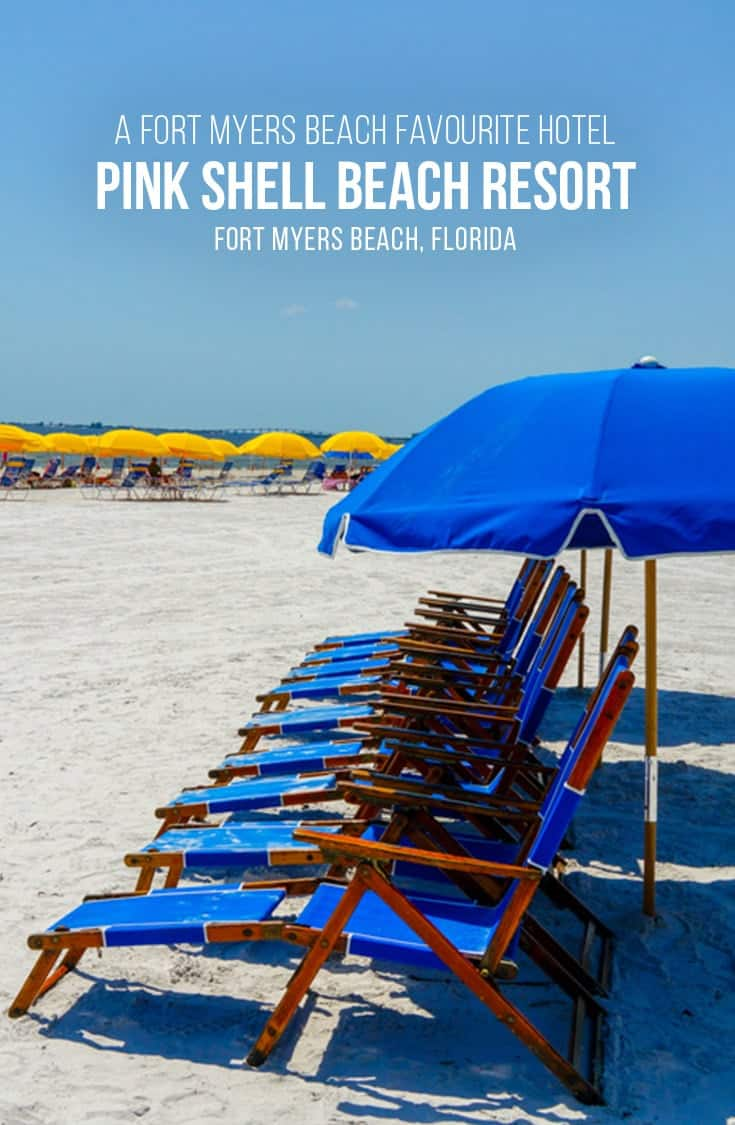 What would a hotel called the Pink Shell Beach Resort be without an amazing beach? In this post we look inside the Pink Shell Beach Resort and Marina on Fort Myers Beach Florida. Fabulous fully-equipped suites with breathtaking views of the ocean. | #FortMyersBeach #Florida #Hotel #BeachVacation #USA |