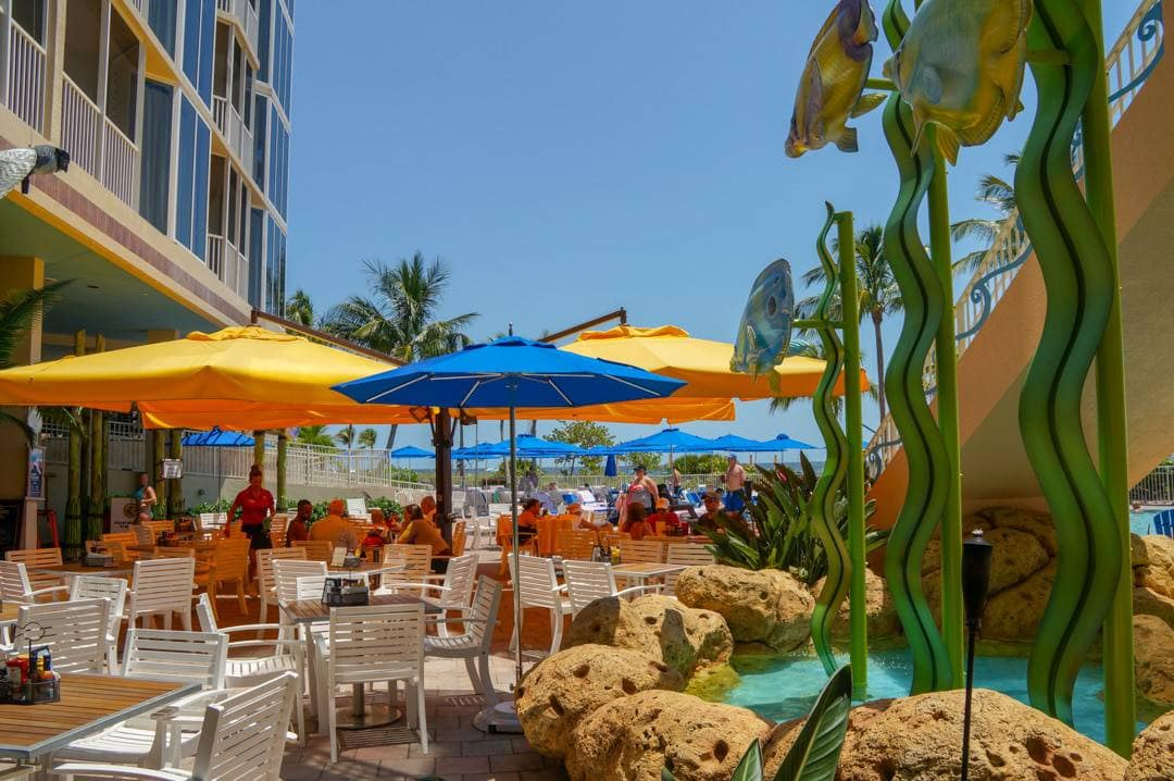 Bongo's Bar and Grill Pink Shell Beach Resort Fort Myers Beach Florida