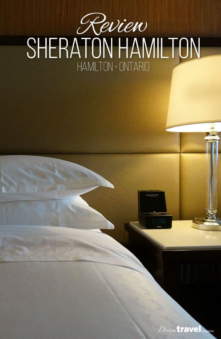 Located in the heart of Downtown Hamilton Ontario, the Sheraton Hamilton is the perfect choice for overnight stays in the city. Steps from Hamilton's main attractions, these renovated suites will ensure a great stay while visiting.   Hotel   Review   Hamilton   Ontario  