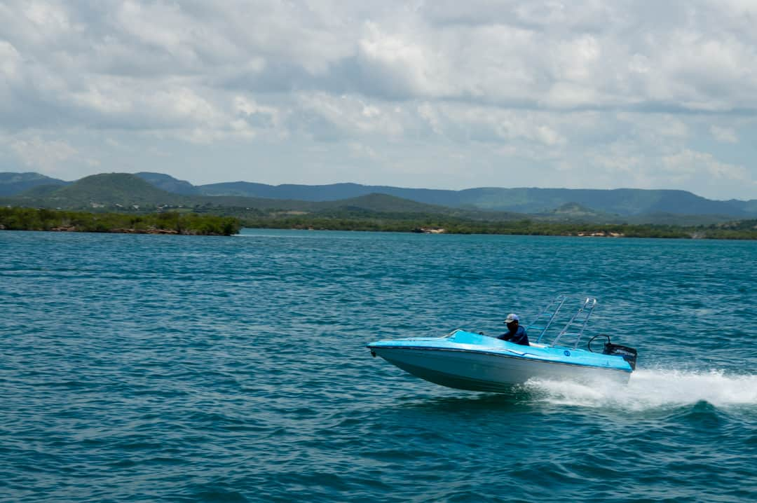 Speed Boats at Ecological Park Rocazul Holguin Cuba