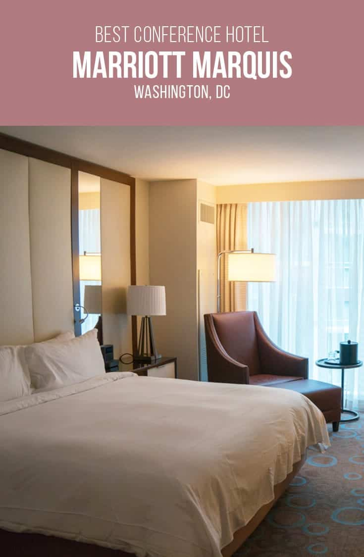 Attending a conference in Washington? We have the best hotel in the city for conference goers. The Marriott Marquis is located right next door and aside from business travel amenities, its location makes it the ideal hotel for business travel to Washington DC.   Hotel Review   Washington   DC   Business Travel   USA  