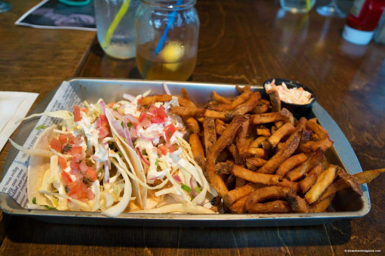 Fish Tacos Review West Point Lighthouse Inn PEI