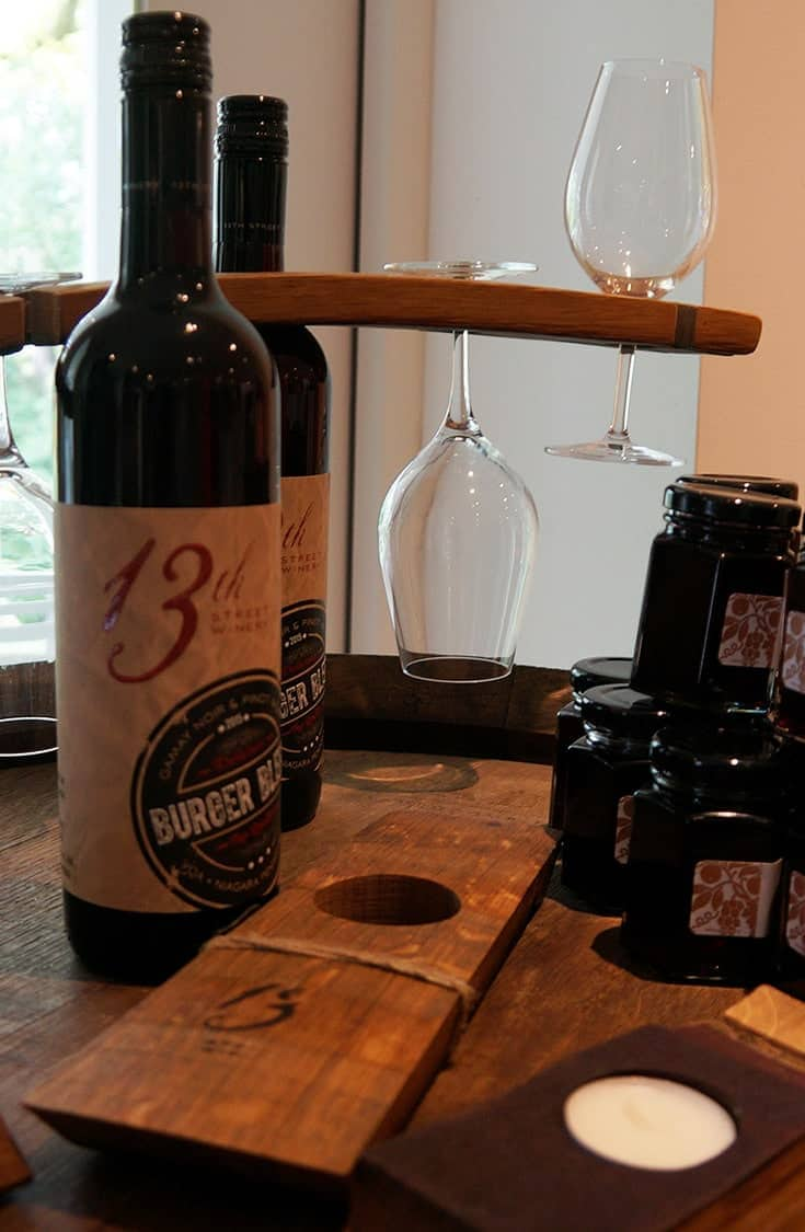 Discover the Twenty Valley wine region in Ontario. Enjoy a sampling of Wine, Art and Fresh Baked goods at the 13th Street Winery a must stop winery on any wine tour through the Niagara region. | #Winery #Niagara #Ontario |