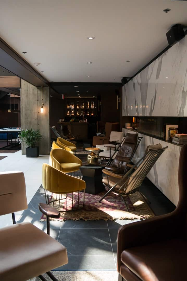 Luxury escape at the Hotel William Gray in Montreal Quebec. Modern boutique hotel built in restored historical building in Old Montreal. Steps from everything. | Luxury hotel | boutique hotel | Montreal | Quebec |