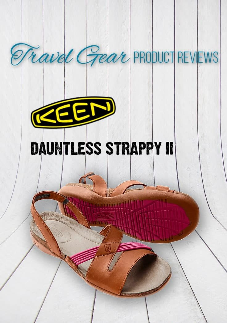 Perfect for site seeing trips, the Keen Dauntless Strappy II sandals were stylish and provided good support for extended wear. Check out our full review. | Fashion | Travel Gear | Sandals | Shoes | Keen |