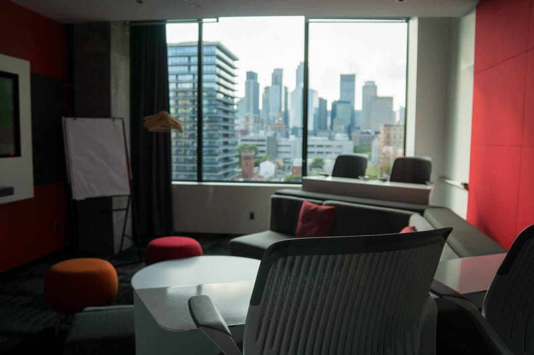 media room Alt Hotel Montreal Griffintown