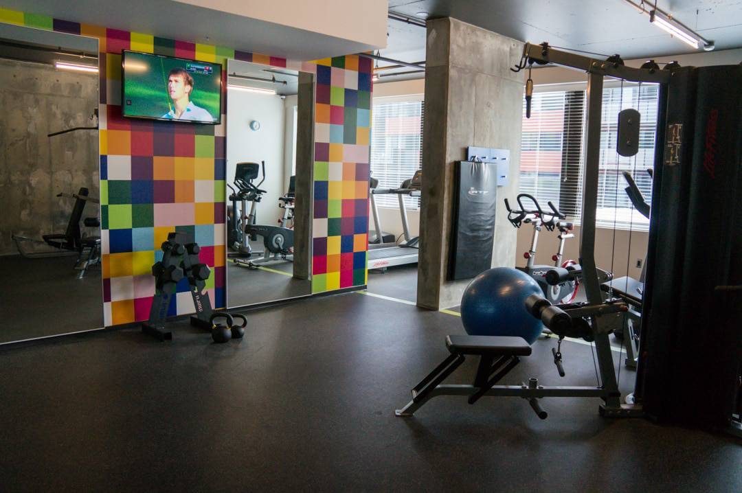 Gym Alt Hotel Montreal Griffintown