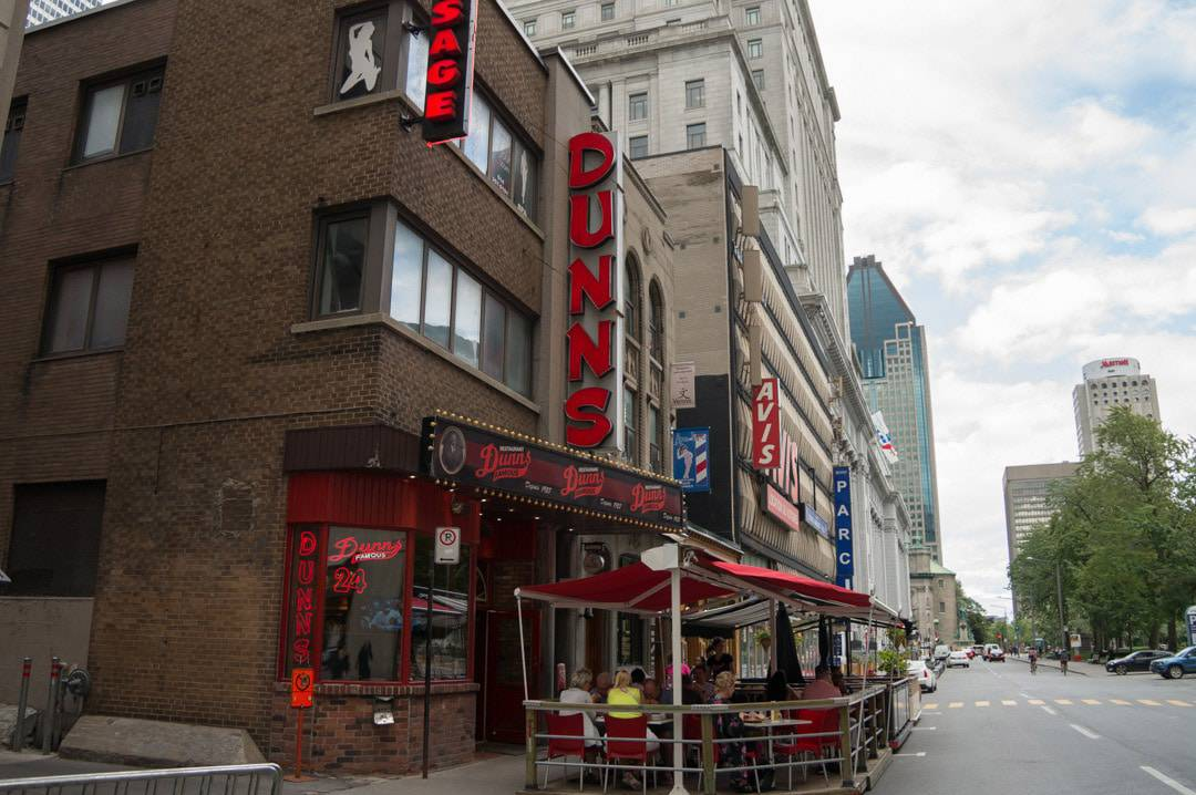 Dunn's Famous Smoked Meat Restaurant Montreal Quebec | Restaurant | Smoked Meat | Deli | Montreal | Quebec |