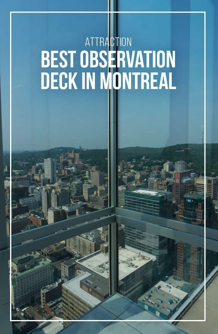 Want a spectacular view of the city and wonder which is the best observation deck in Montreal? In this post, we compare The Montreal Tower Observatory and The Observatory Place Ville Marie. | Montreal | Quebec | Attraction | Observation Deck | Montreal Stadium | Downtown Montreal