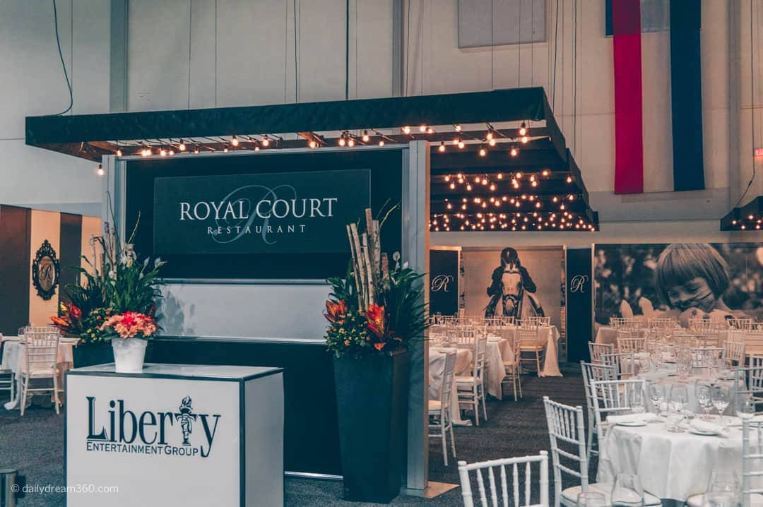 Royal Court Restaurant at The Royal Agricultural Winter Fair in Toronto
