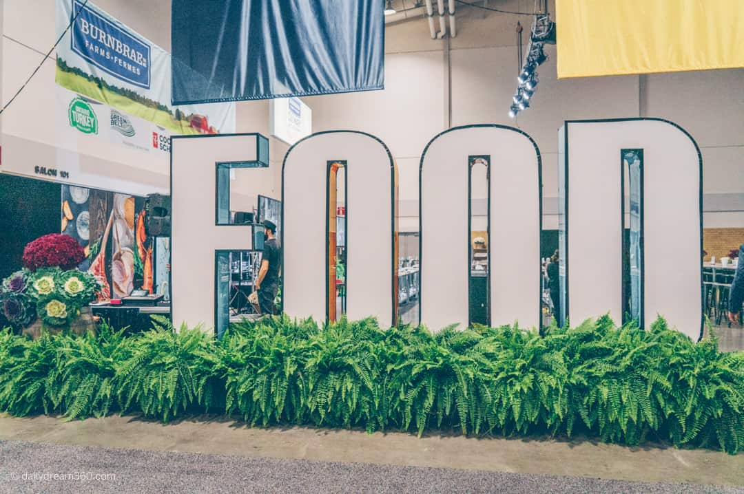 Food and Life stage area Royal Agricultural Winter Fair Toronto