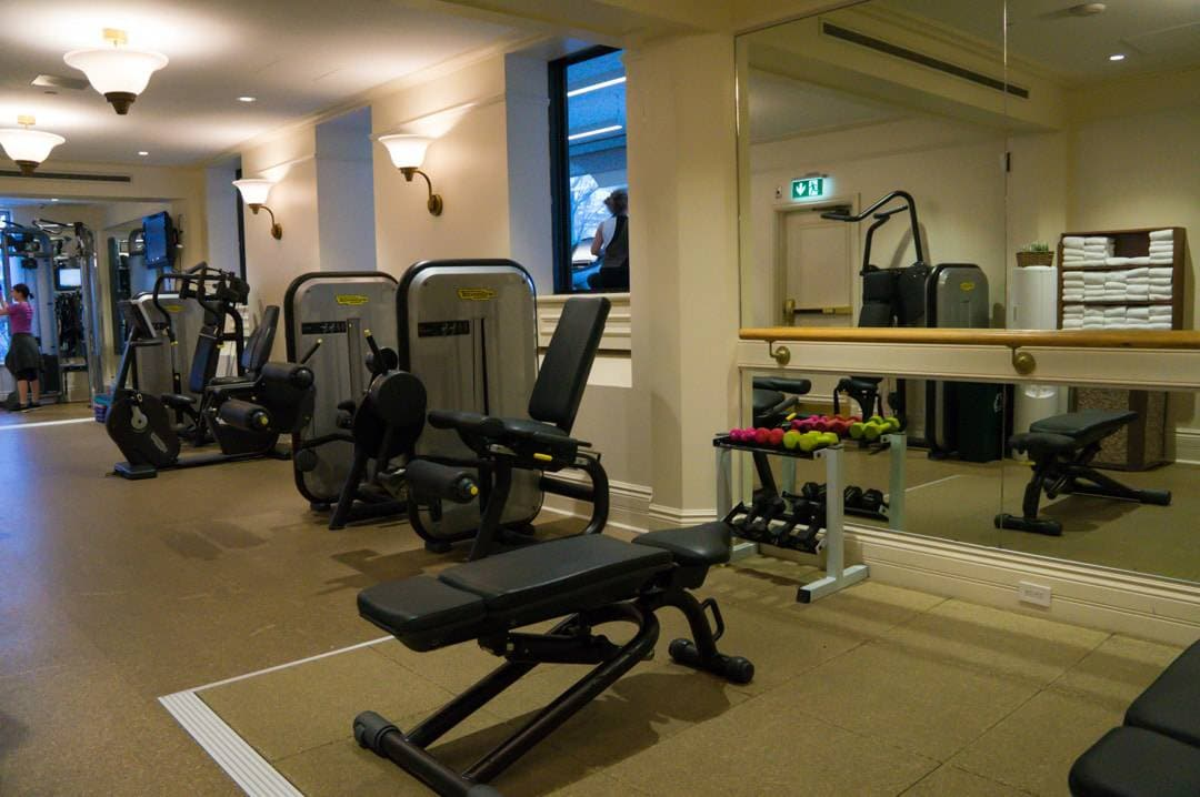 Fitness Room Fairmont Chateau Frontenac Quebec City Winter