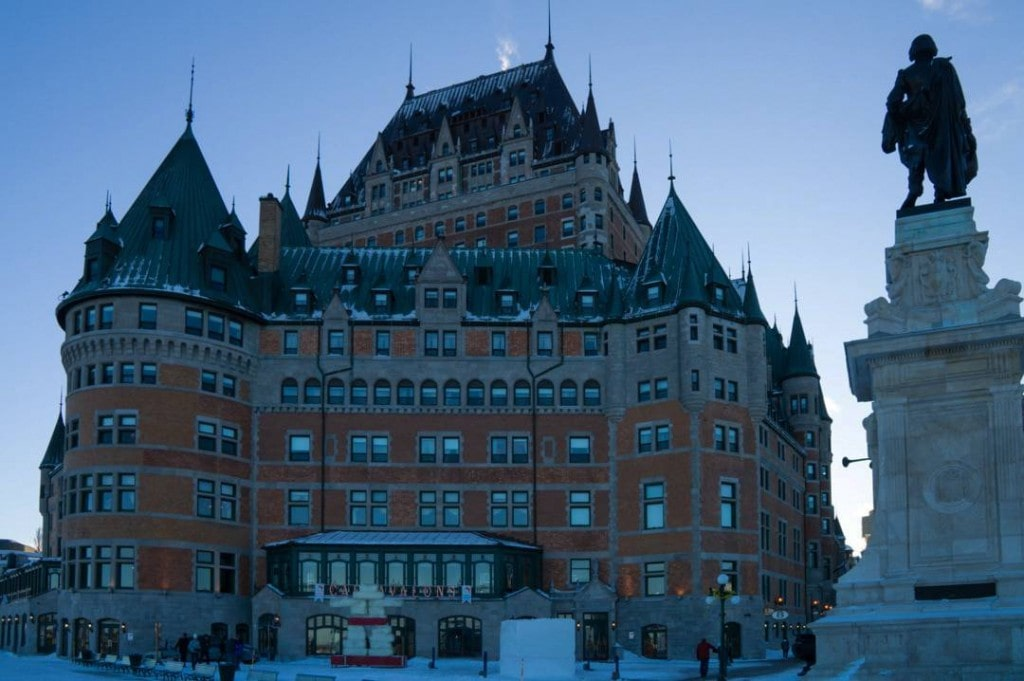 Fairmont Chateau Frontenac Quebec City Winter-Featured
