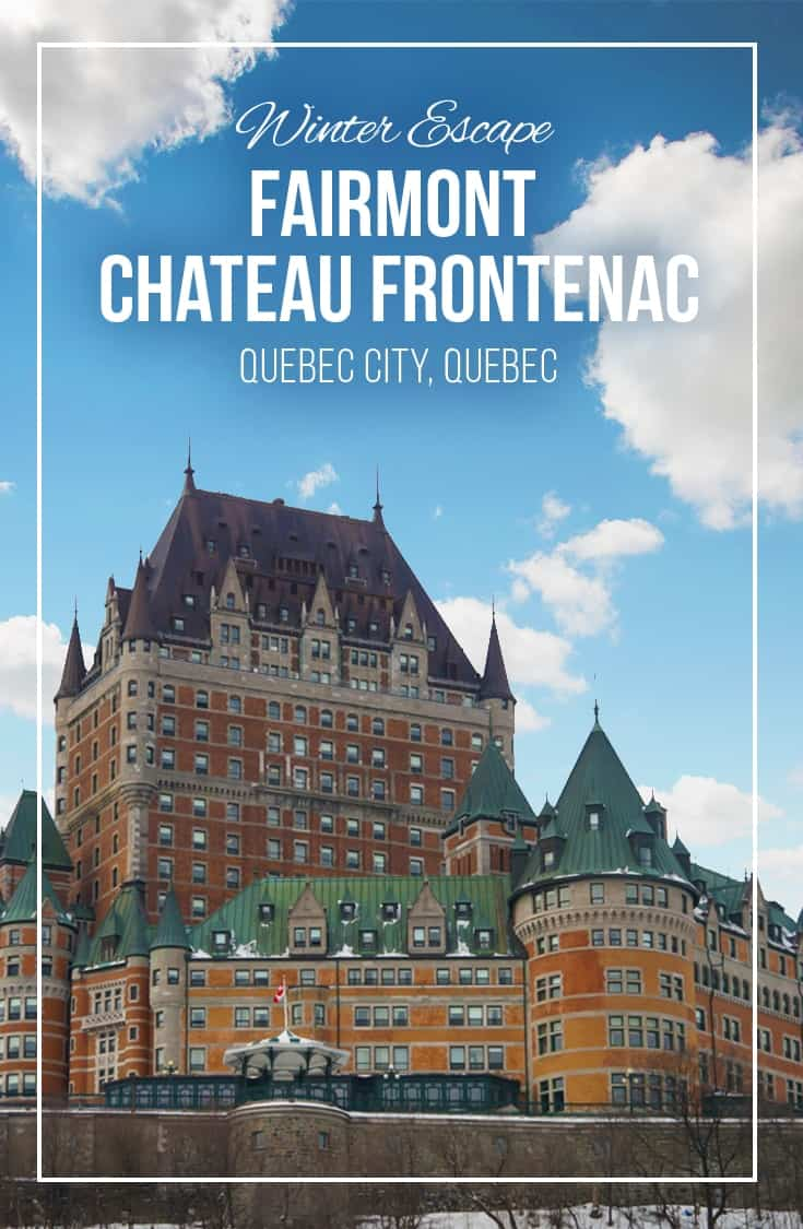 A winter escape at the Fairmont Chateau Frontenac in Quebec City includes luxury hotel accommodations, great dining and a superior location close to all that is happening in the old city. Check out our suggestions for where to eat and what to do during your winter getaway at the Fairmont Chateau Frontenac. | Luxury Hotel | Quebec City | Quebec | Winter | Fairmont | Chateau Frontenac | Canada |