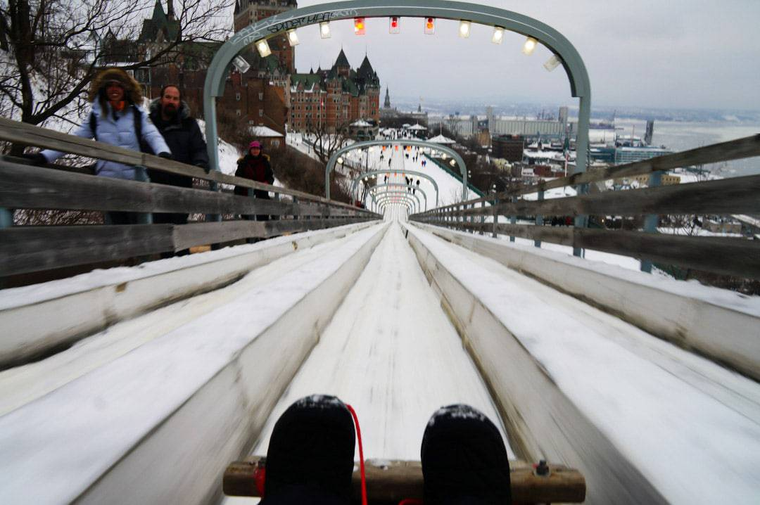 What You Need To Know About The Quebec City Toboggan Ride
