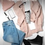 Winter clothing with text How to Pack Light for Winter Travel with This Winter Clothing ListHow to Pack Light for Winter Travel with This Winter Clothing List. (pin image)