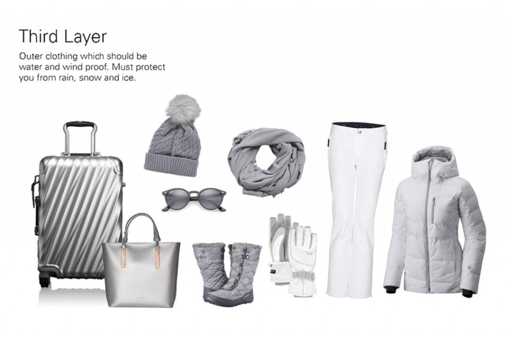 Third Layer Winter Carry-on Only Packing List