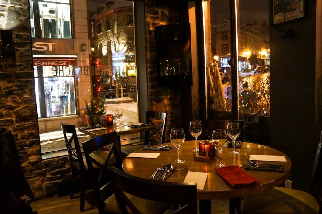 A List Of Restaurants And Great Places To Eat In Quebec City