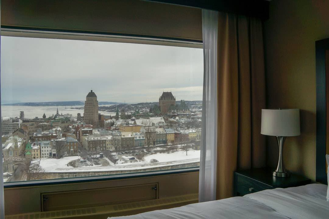 View Hilton Quebec City hotel room