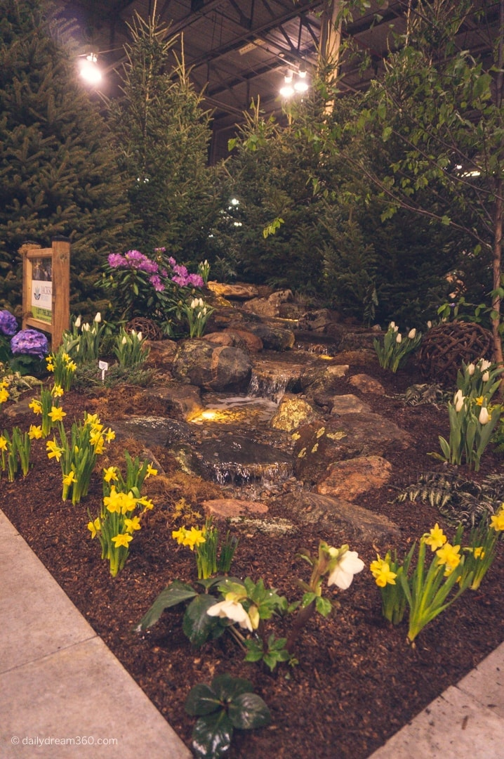 Jackson's Pond Landscape exhibit at Canada Blooms
