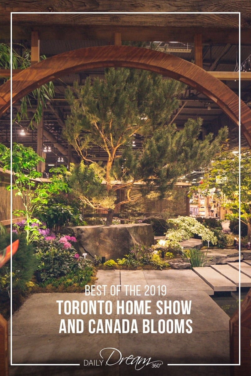 Featured fusion garden at Canada Blooms