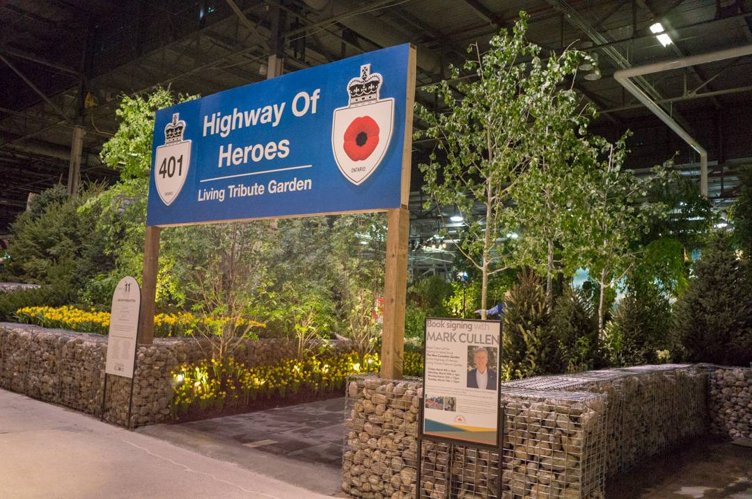 Highway of Heros Living Tribute Garden