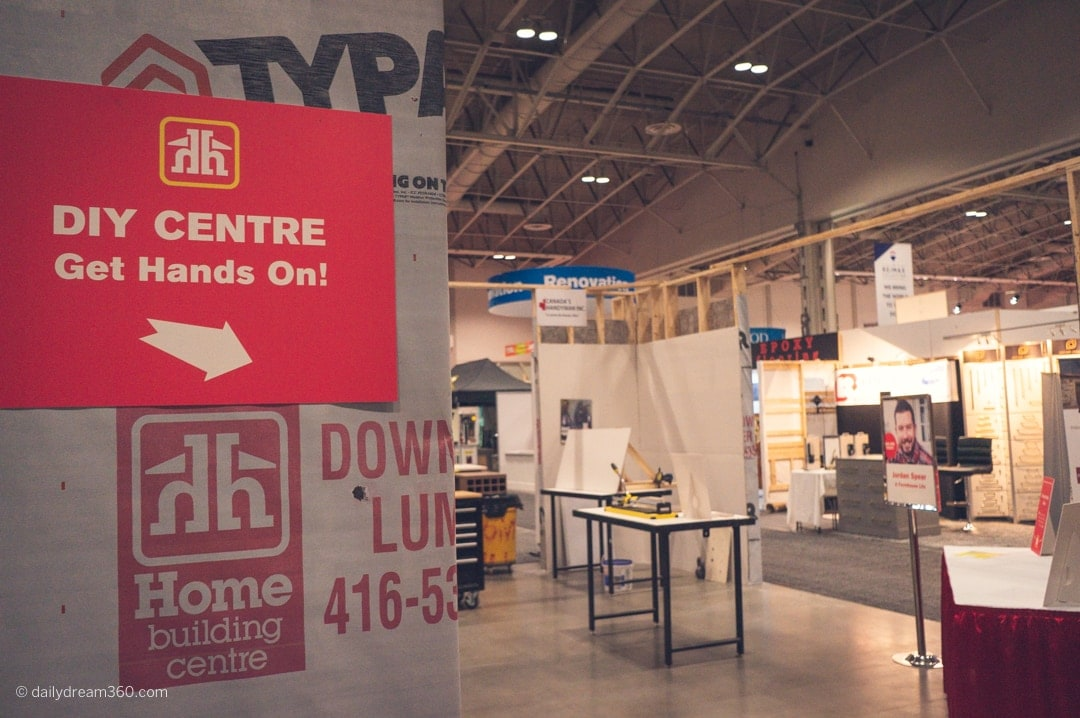 Home Hardware DYI Centre at National Home Show Toronto