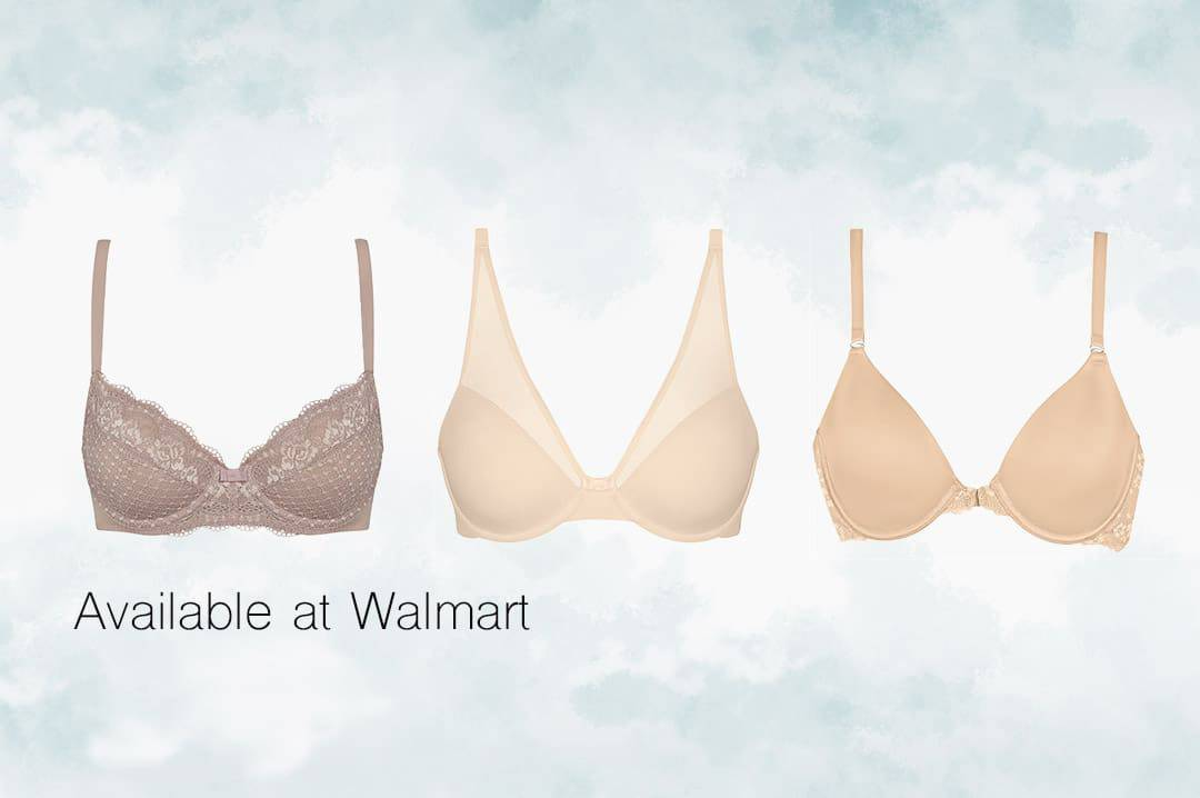 Available at Walmart WonderBra Spring 2018 Collection