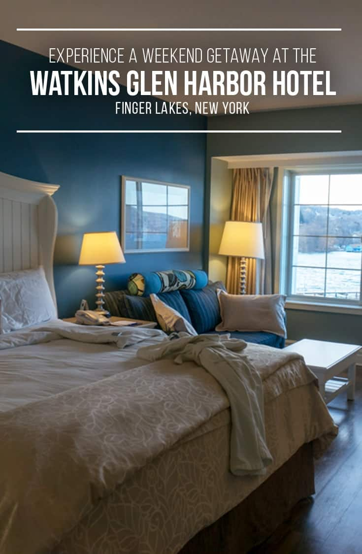 Visiting the Finger Lakes New York area? We have a great hotel option for you! The Watkins Glen Harbor Hotel sits on the harbour and is a great location for those travelling to the Finger Lakes region in upstate New York. | #NewYork #FingerLakes #watkinsglennyhotels |