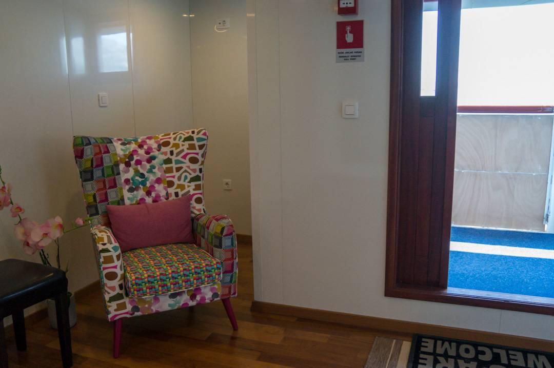 special main hallway chair Elite Travel Adriatic Princess Cruise Ship