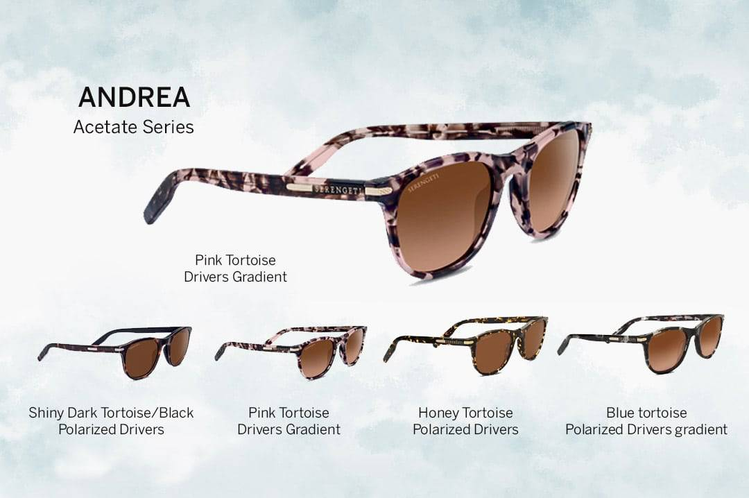 Andrea Serengeti Sunglasses 2018
