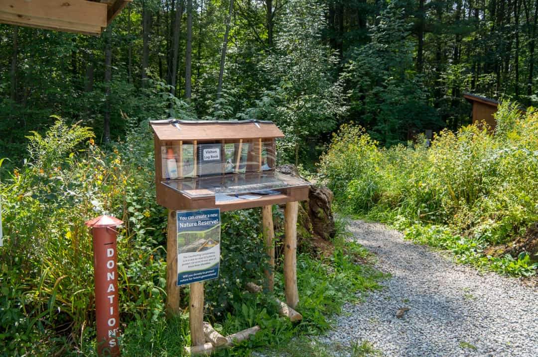 Couchiching Conservancy Art Trail Start