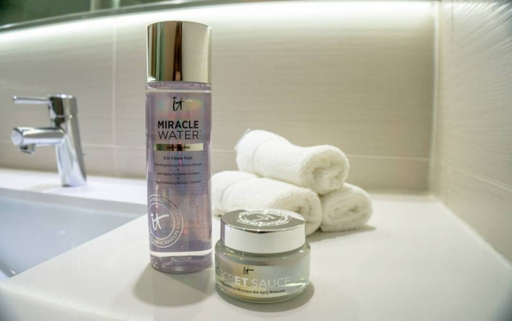 IT Cosmetics Miracle Water and Secret Sauce