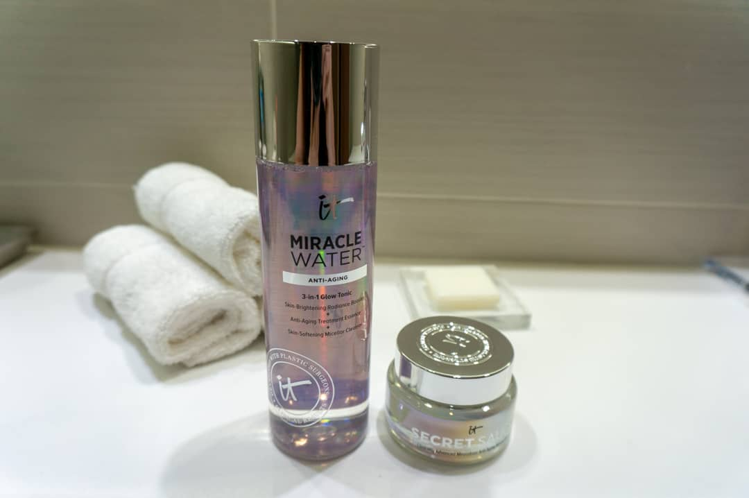 IT Cosmetics Miracle Water and Secret Sauce Moisturizing Cream