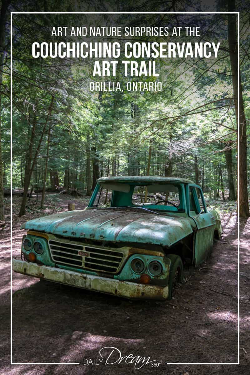 Looking for a little escape from the city and would like a nice easy forest hike? I recommend a visit to the Couchiching Conservancy Grant's Woods Trail which is filled with many little surprises. | #orillia #ontario #hiking #trails #conservancy |