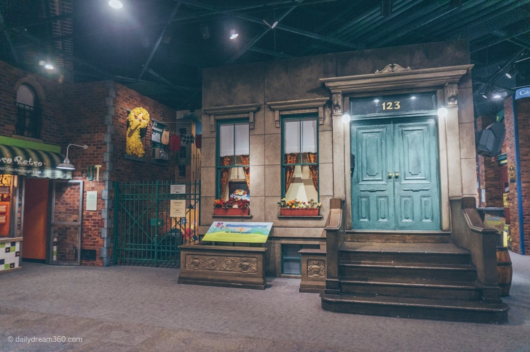 Sesame Street exhibit at Strong Museum of Play Rochester