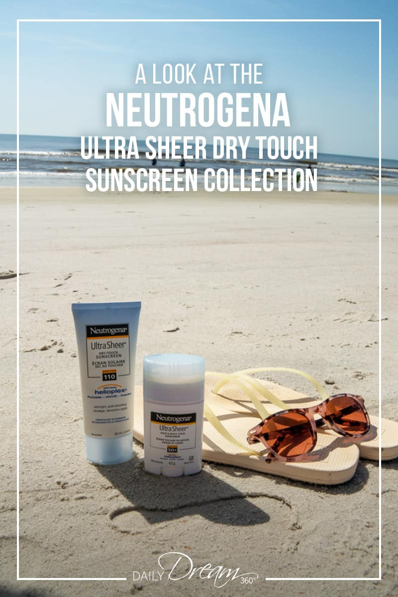 Finding one non-sticky sunscreen is an accomplishment but finding multiple products is something we have to shout about. In this post, we share the details of the Neutrogena Ultra Sheer sunscreen collection. | #sunscreen #non-sticky #neutrogena #ultrasheer #drytouch |