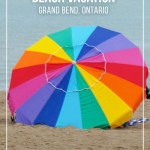 Need a beach escape? Located on the southwest coast of Lake Huron, Grand Bend Ontario is filled with things to do and see during your summer beach vacation. | #Ontario #GrandBend #Beach #Vacation #DiscoverON #OntarioTravel #OntSouthwest |