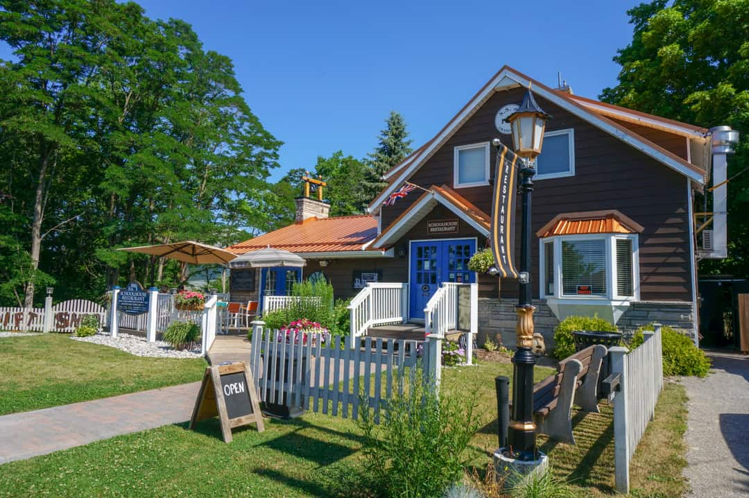 Schoolhouse Restaurant Summer Girls Getaway Grand Bend Ontario