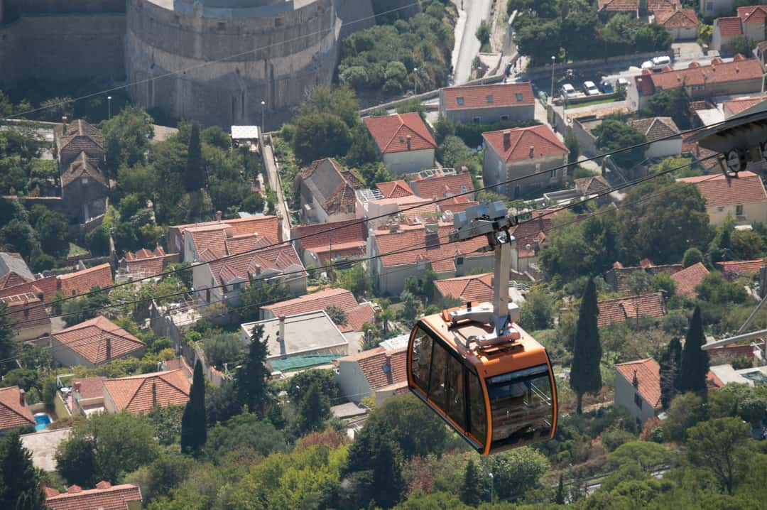 Dubrovnik Cable Car Things To Do In Dubrovnik