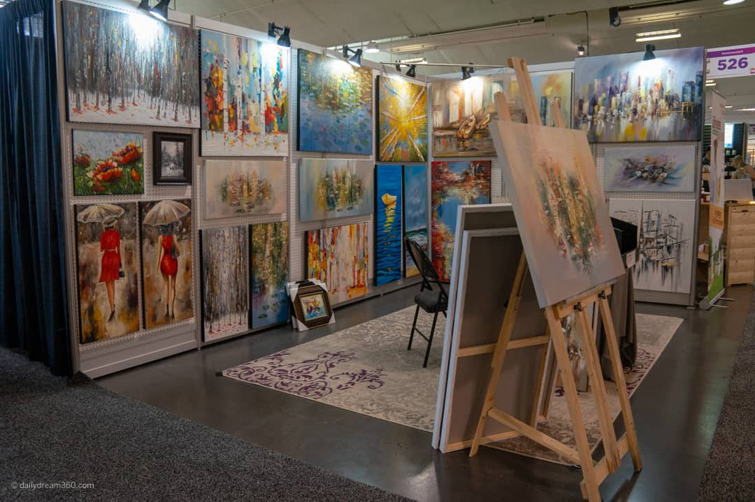 paintings on display at one 2018