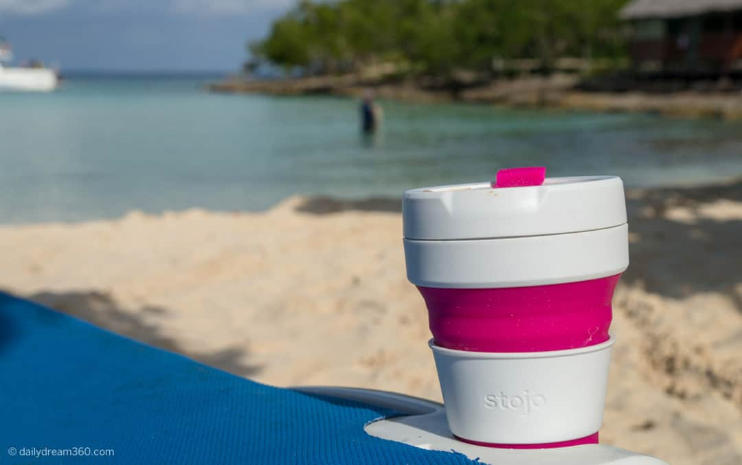8e83df7778b stojo Collapsible Cup Review. Spill-proof travel coffee cup.