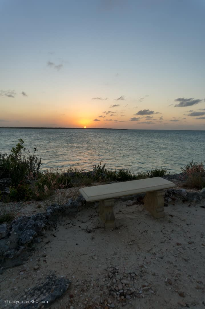 Secret sunset lookout at Grand Village section of Iberostar Ensenachos