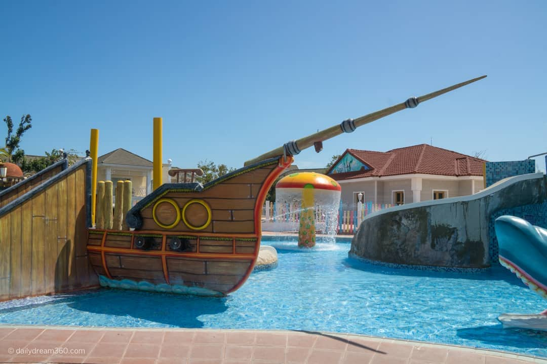 Kids area in the Park Suites section of Iberostar Santa Maria