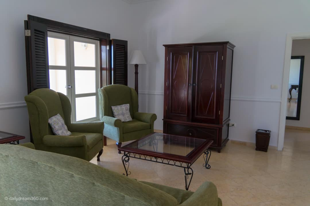 living room in villa at Iberostar Cayo Santa maria