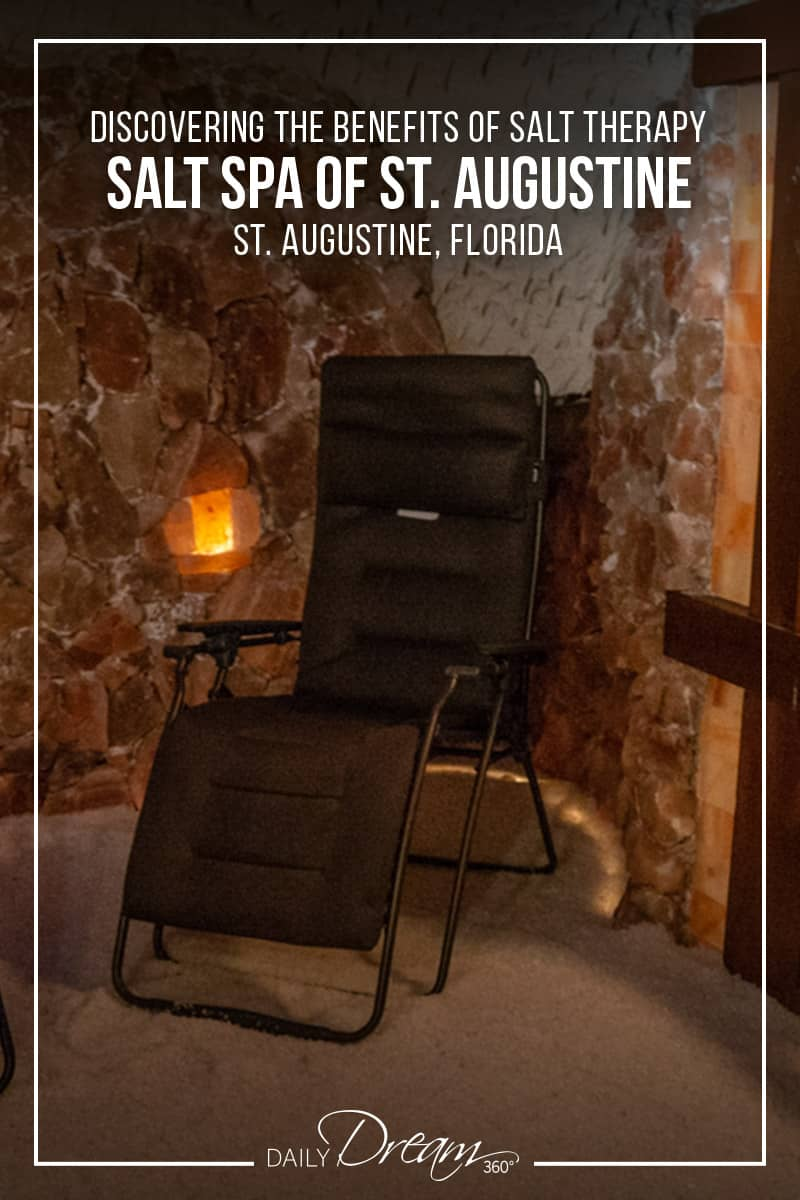 Chair inside salt cave Discovering the Benefits of Salt Therapy at the Salt Spa of St. Augustine