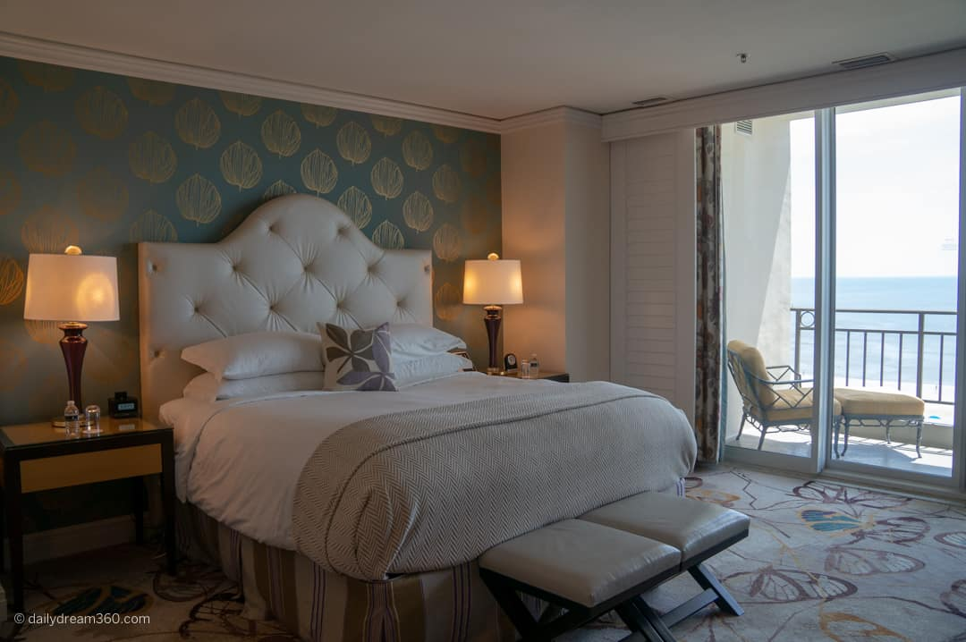 bedroom in Oceanfront suite at Health and Wellness at the Ritz-Carlton Amelia Island