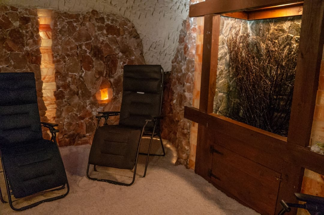 inside salt cave Discovering the Benefits of Salt Therapy at the Salt Spa of St. Augustine
